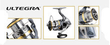 100% Original 2017 NEW SHIMANO ULTEGRA Spinng Reel 1000HG 2500HG C3000HG 4000XG C5000XG gear ratio 6.0:1/6.2:1 Hagane Gear Xship
