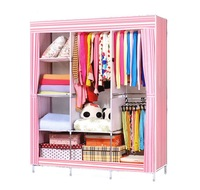 Homdox portable bedroom wardrobe closet storage organizer clothes rack shelves striped pattern modern furniture 30 24.jpg 200x200