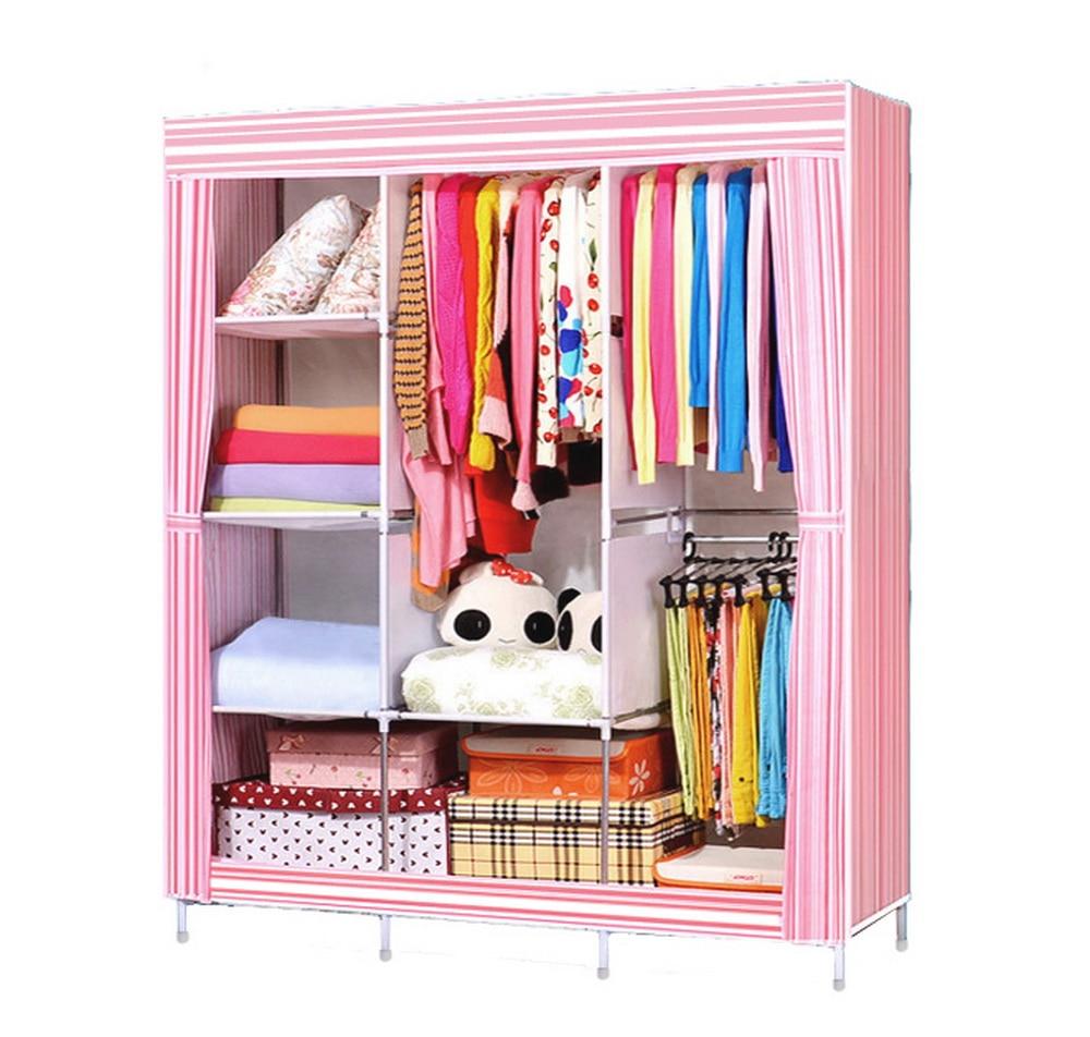 compare prices on modern wardrobe closet online shoppingbuy low  - homdox portable bedroom wardrobe closet storage organizer clothes rackshelves striped pattern modern furniture