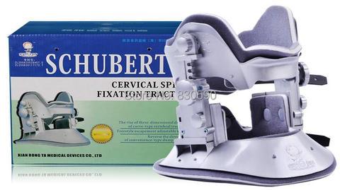 schubert cervical dispositivo de tracao do pescoco do colar cervical do agregado familiar brace dispositivo
