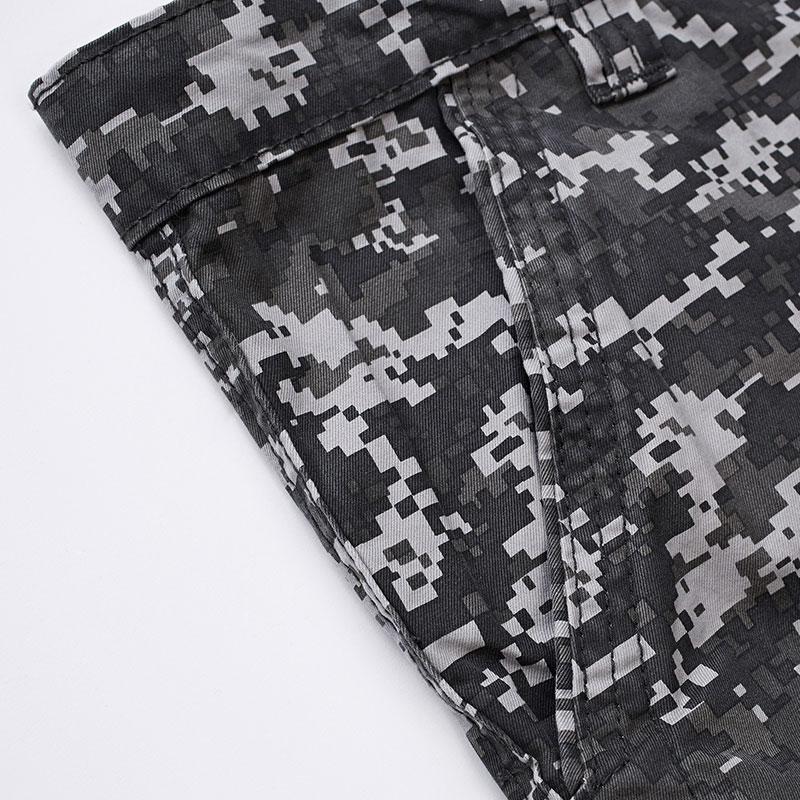 Militaire Pantalon Mode Armée Sueur Lâche Pantalons De Cargo Survêtement 2015 Casual Baggy Nouveau Camouflage Ardoisé Hommes v8nmwN0