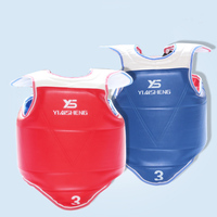 Taekwondo Corsetry Adult kids thick Taekwondo Chest Protector TaeKwonDo Solid Reversible Chest Guard Protector