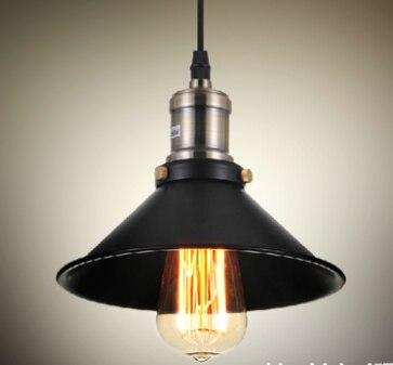 1 partija 2gab. Kulona gaisma 21cm Rūpnieciskā vintage stila cepure - Iekštelpu apgaismojums