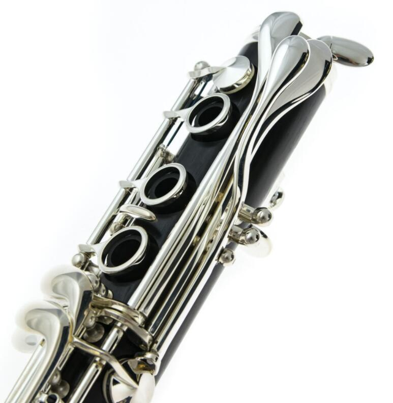 Buffet clarinette Crampon R13 Bb matériau ABS 17 clés B clé Nickel plate clarinette plaquée argent - 4