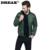2016 nuevo color sólido del collar hombres de ambos lados desgaste una chaqueta espesar abrigo de invierno para hombre chaqueta acolchada ligero chaqueta