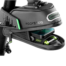 ROCKBROS Rainproof MTB Bike Bag Shockproof Bicycle Black Saddle Rear Seatpost Panniers Cycling Seat Bar Accessories