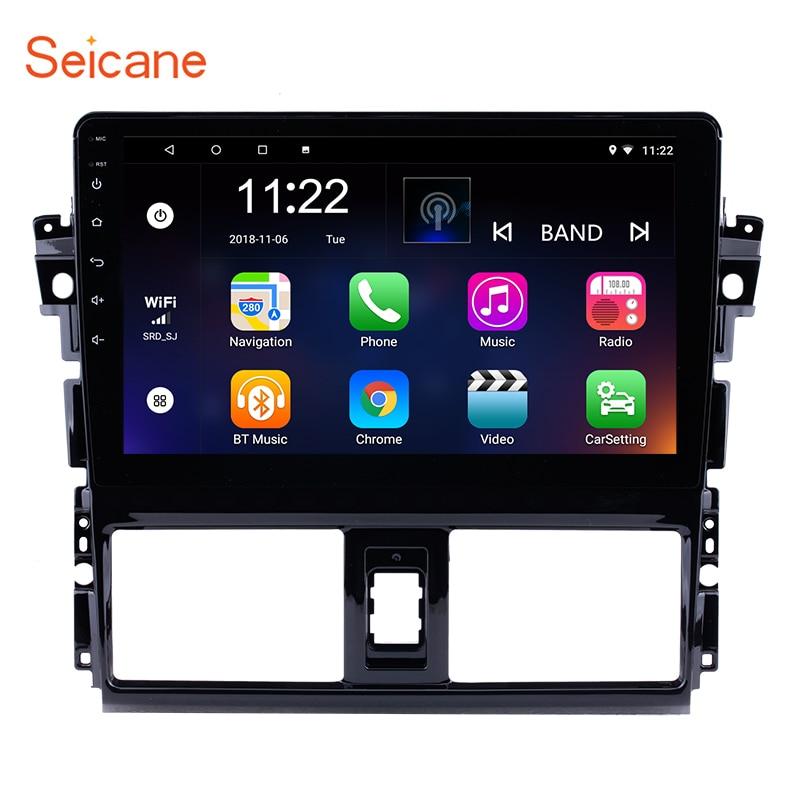 Seicane 10 1 Inch HD 1024 600 inch Android 7 1 8 1 Car Radio GPS
