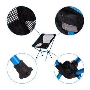 Image 4 - Leichte Kompakte Faltung Camping Rucksack Stühle, Tragbare Faltbare Stuhl für Outdoor, Strand, Angeln, Wandern, picknick, Reise