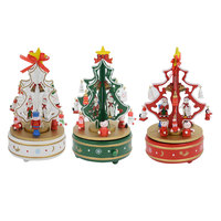 Music Box Musical Movement Set Christmas Tree Melody Birthday Xmas Gift Home Decoration Accessories Party Supply