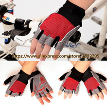 Hot Bicycle Gloves Half Finger Shockproof Mountain bike gloves half finger Cycling gloves Summer Good Air Permeability