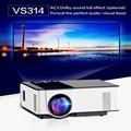 NOVA VS314 LEVOU Mini Projetor Full HD 1500 Lumens 800x480 Pixels 0.9-6 M Casa TV Media Player Portátil Home Theater Proyector