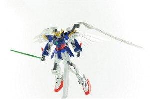 Image 3 - Bandai gundam 1/144 asa gundam zero terno móvel personalizado montar modelo kits figuras de ação brinquedos das crianças
