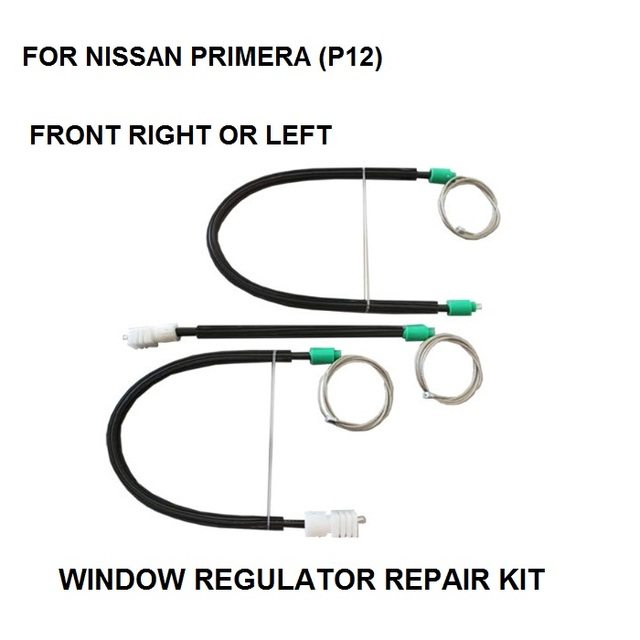 WINDOW REGULATOR REPAIR WIRE and CABLE FOR NISSAN PRIMERA