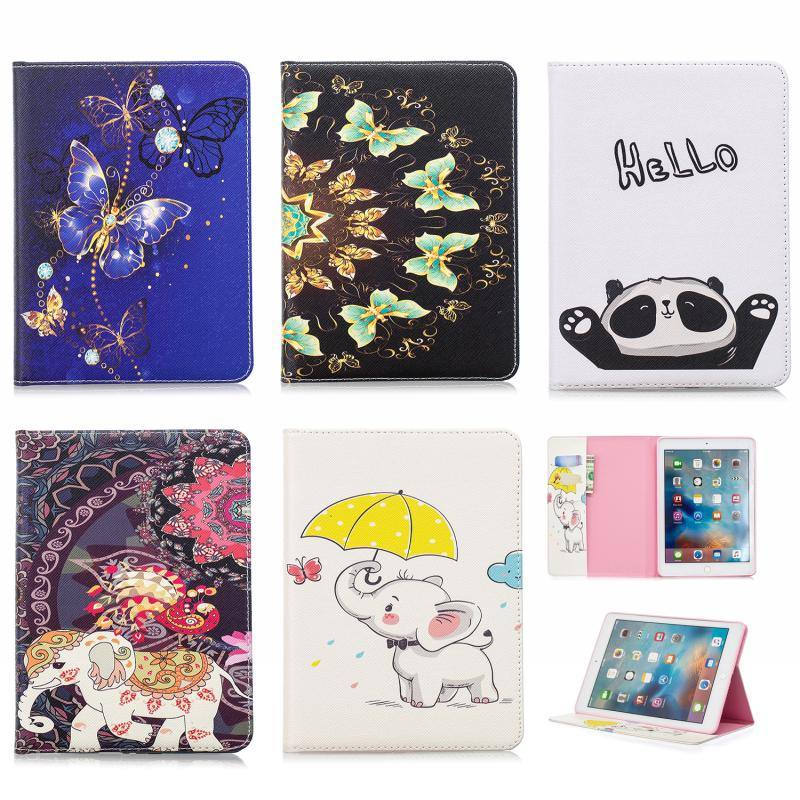 """For iPad Air Wallet Cover Case Leather Tablet Case Bag Accessory for Apple iPad Air 9.7"""" Stand Holder Flip Protective Skin Shell"""