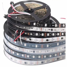 1m/5m 12V LED Pixel Strip WS2811 Programmable Addressable 30/60 leds/m External 1 IC 2811 Control 3 Leds 5050 RGB Tape