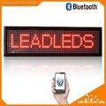 """2016 New Arrival Bluetoth LEVOU Placa do Sinal Mensagem de Rolagem Programável Display de 6.3 """"x 21"""" Cor Vermelha Interior Levou painel"""