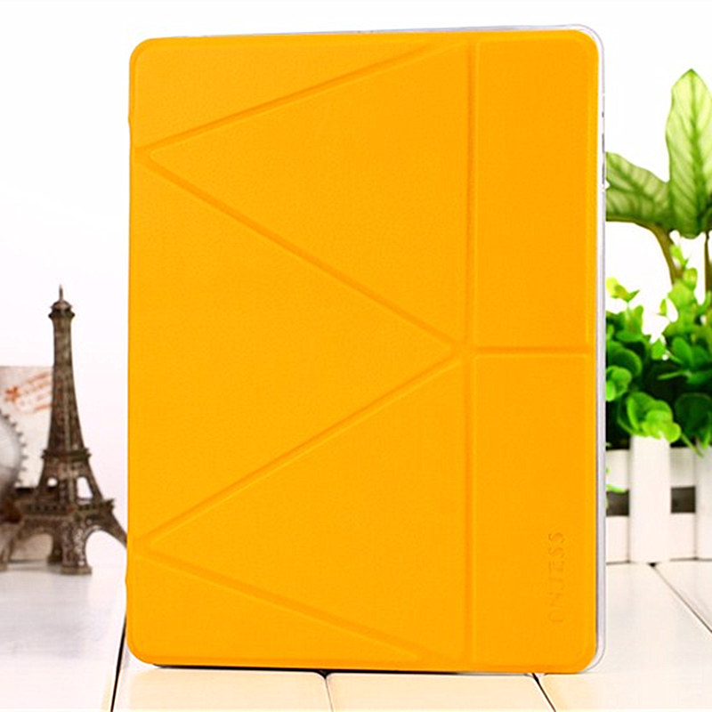 for <font><b>Samsung</b></font> P200 <font><b>P205</b></font> Case Tab A 8 inch 2019 PU Leather Soft Cover Fold Originality Deformation Stand Cover Transformer Onjess image