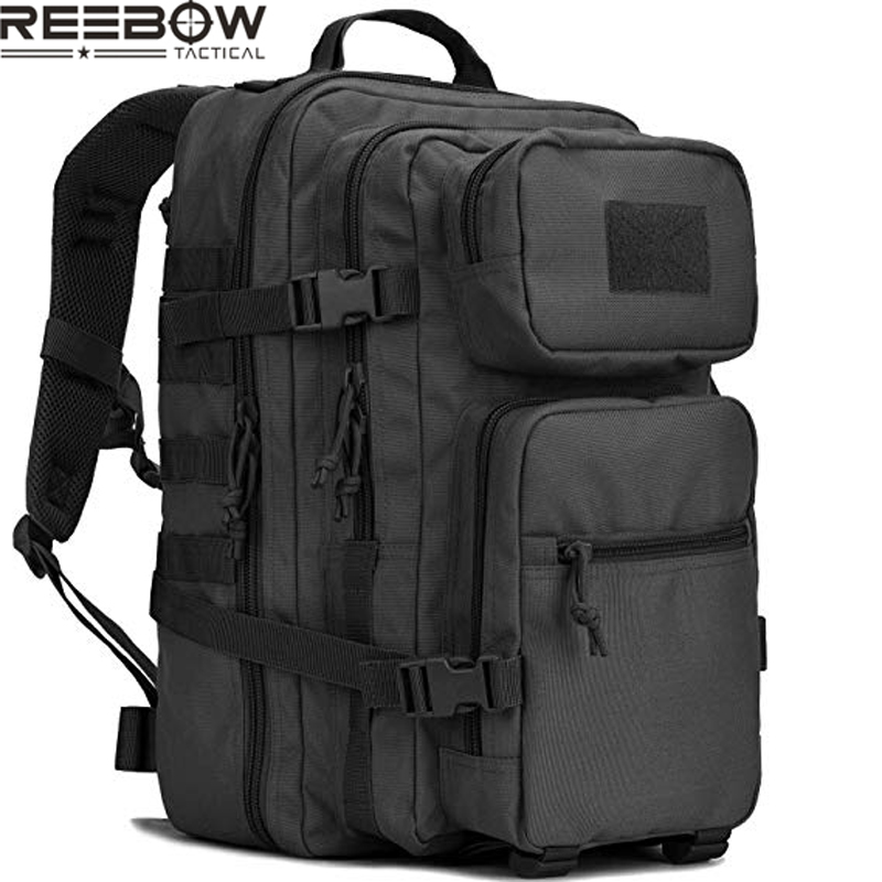 Military Tactical Backpack w Gun Holster Small 3 Day Assault Pack Army Bug Out Bag Backpacks