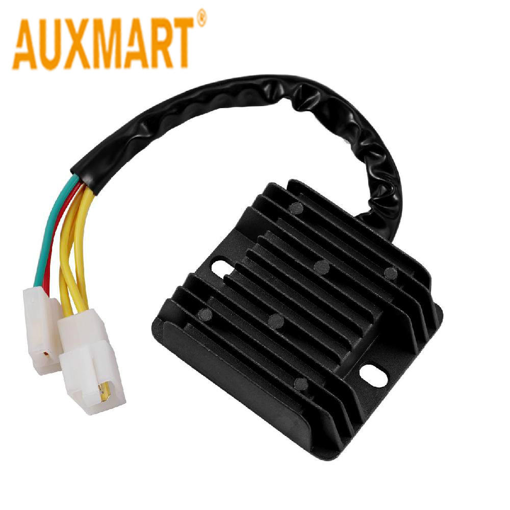 Auxmart Motorcycle Voltage Regulator Rectifier For Hyosung GT S / R FI 650 (32800HN9101) 2007-2013 GV Aquila ST7