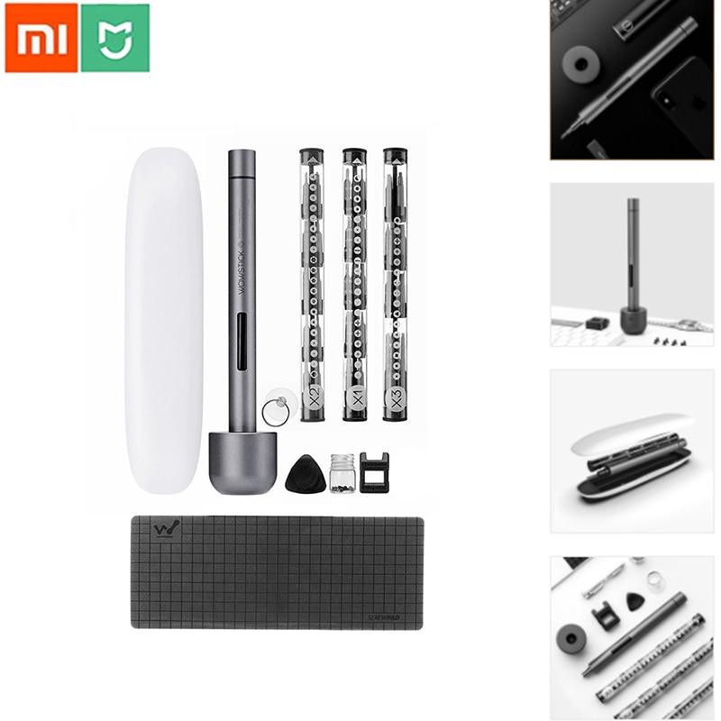 Xiaomi Wowstick 1F Pro 64 en 1 tournevis électrique Rechargeable LED électrique tournevis outils de réparation