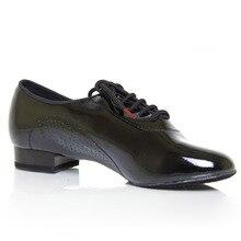 Dancesport Shoe 309 Economic Ballroom Dance Shoes for Men Split Sole Shoe Men Dance Shoe Patent Leather