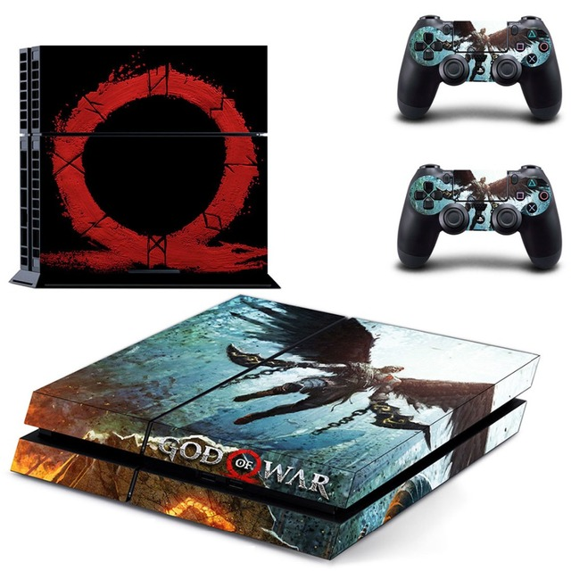 God of War PS4 Skin Sticker for Sony PS4 PlayStation 4 and 2 controller skins 4