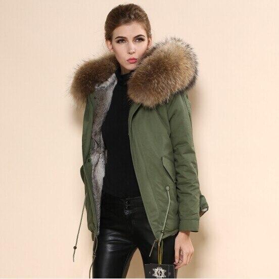 2015 nuevo estilo mujeres y hombres nombre marca de alta calidad Mr furs venta verde piel Collar tela Trench