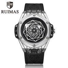 Роскошные кожаные Брендовые Часы мужские спортивные часы водонепроницаемые кварцевые мужские военные наручные часы Мужские часы Relogio Masculino 2018