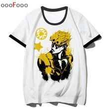 JoJo Bizarre aventure T-shirt Cool nouveauté top T-shirt drôle streetwear mode hip hop anime homme/homme hommes imprimé T-shirt