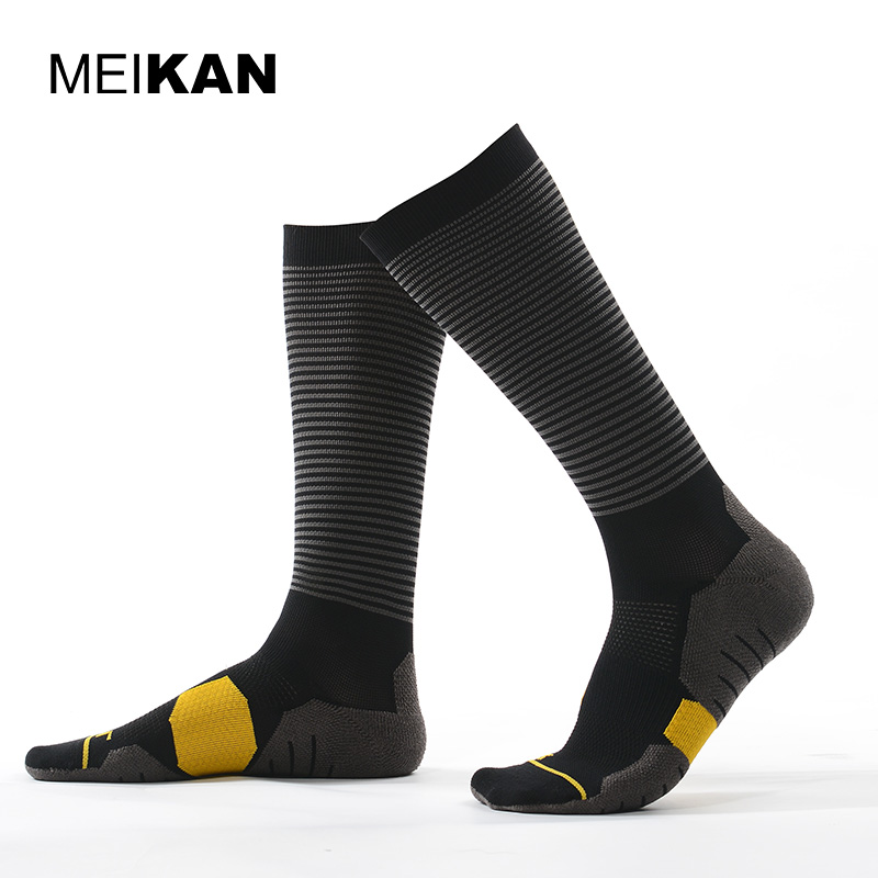 Meikan Soccer Socks High Knee Outdoor Calcetines Ciclismo