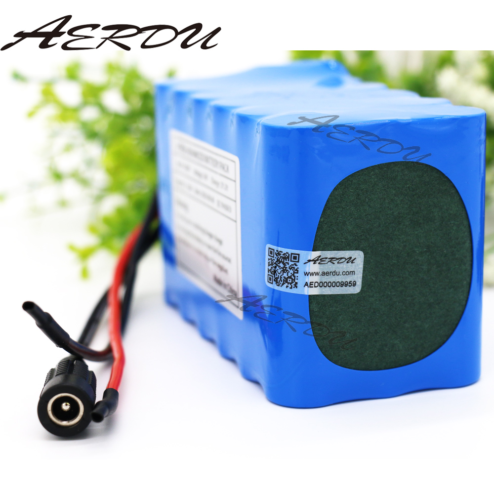 Design; In Aerdu 24v 7.5ah 6s3p 25.2v Li-ion Battery Pack Lithium Batteries For Electric Motor Bicycle Ebike Scooter Toy Drill Etc With Bms Novel