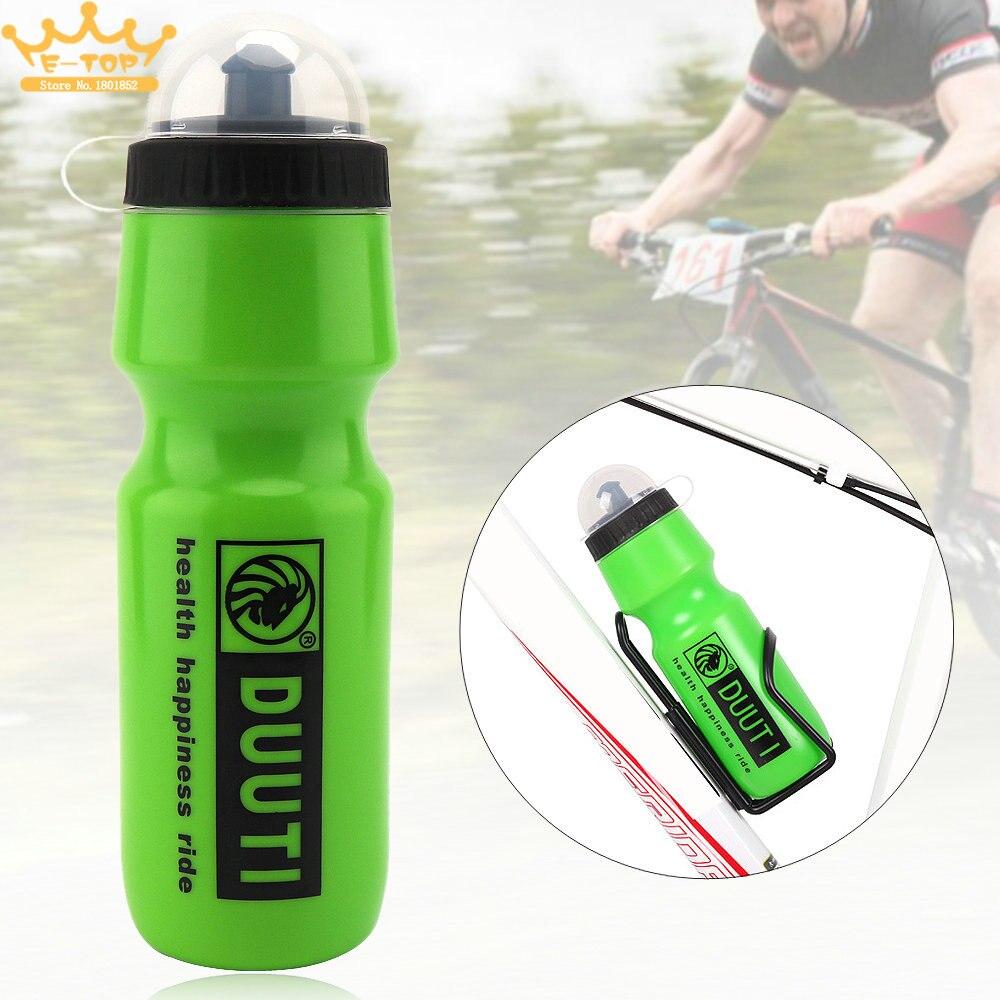 750 мл Велоспорт/Кемпинг Еда класса Пластик здоровья Велосипедные бутылки чайник