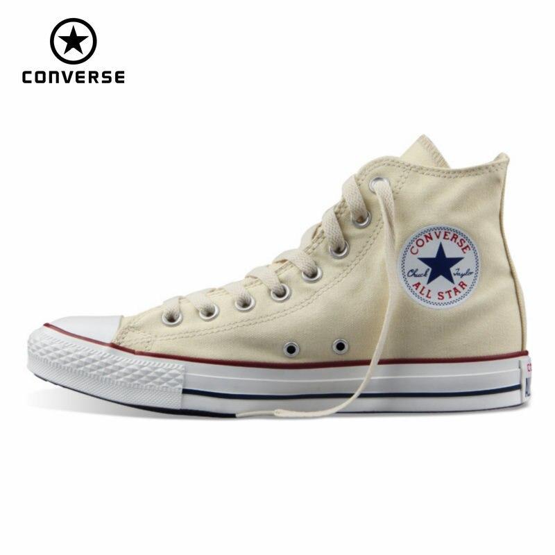 919a0be642cd Cổ điển Original Converse tất cả các ngôi sao giày vải 2 màu sắc cổ điển cao  Trượt Ván nam giới và phụ nữ giày thể thao giày của trong Cổ điển ...