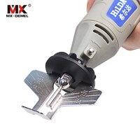 MX DEMEL Saw Sharpening Attachment Sharpener Guide Drill Adapter Dremel Style Drill Rotary Mini Drill Power