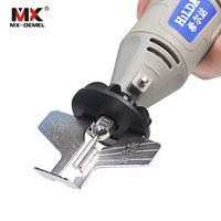 MX DEMEL Saw Sharpening Attachment Sharpener Guide Drill Adapter Dremel Style Drill Rotary Mini Drill Power