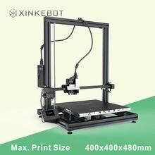 Большой Размеры 400*400*500 мм RepRap Prusa i3 DIY impressora 3D Desktop 3D машина Принтер Комплект