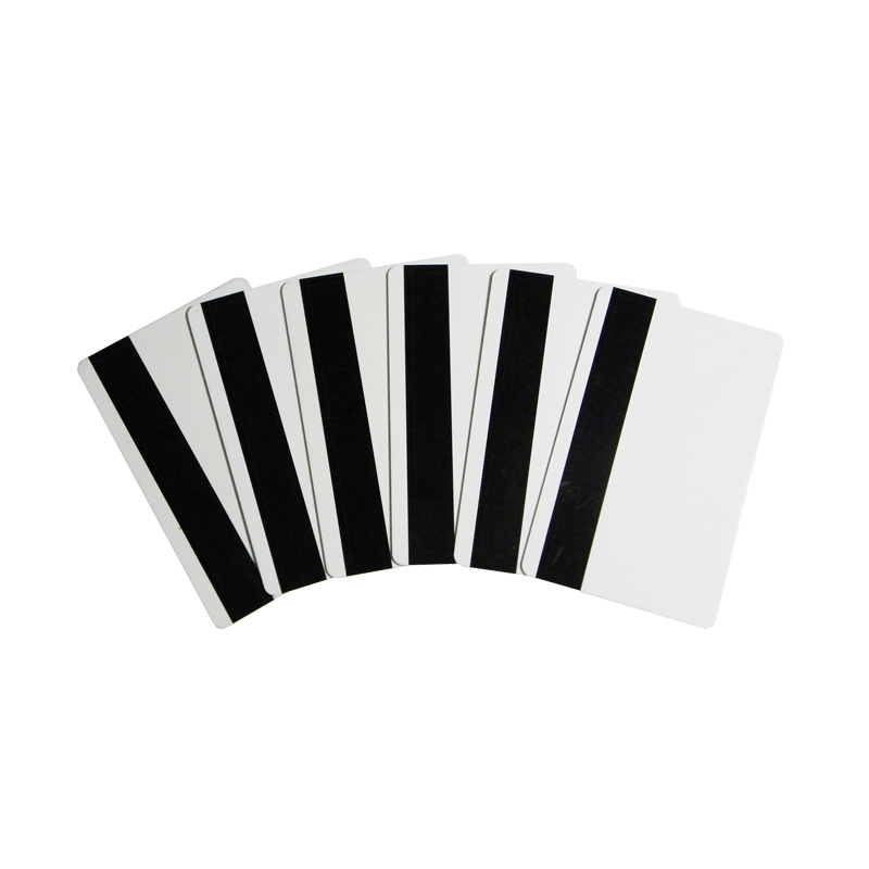 100Pcs/Pack White Blank Card PVC Smart Card Tag Quality Blank White PVC Credit Card ID card with chip and magnetic band
