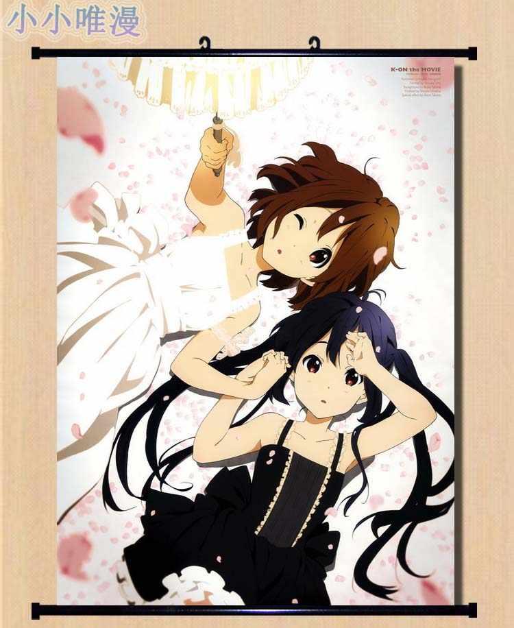 K-on Kotobuki Tsumugi HD Canvas Print Wall Poster Scroll Room Decor