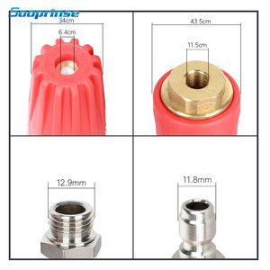 Image 4 - Sooprinse 2020 Universal Pressure Washer Foam Nozzle High Pressure Washer Outlet Fitting Rotary 1/4 inch Quick Connect 5000 PSI