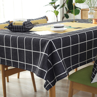 Waterproof, scalding, oil proof and wash free PVC plastic rectangular net red tablecloth 140*180cm