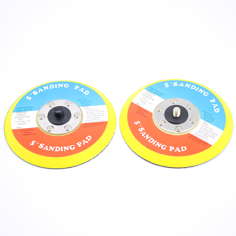 2PCS 5 Inches Pneumatic Sander Parts Polishing Foam Disc Pad 125MM