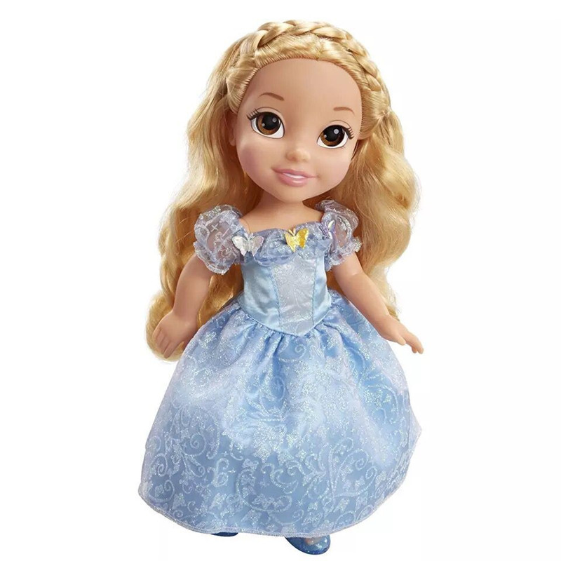 1pieces/lot 40cm big pvc edition princess cinderella doll Joints can move furnishing articles Girls toys