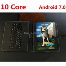 2017 Hot New 10 inch 3G 4G FDD LTE Tablet PC Deca Core 1920*1200 IPS 8.0MP 4GB 128GB Android 7.0 Bluetooth GPS Tablet 10.1+Gifts