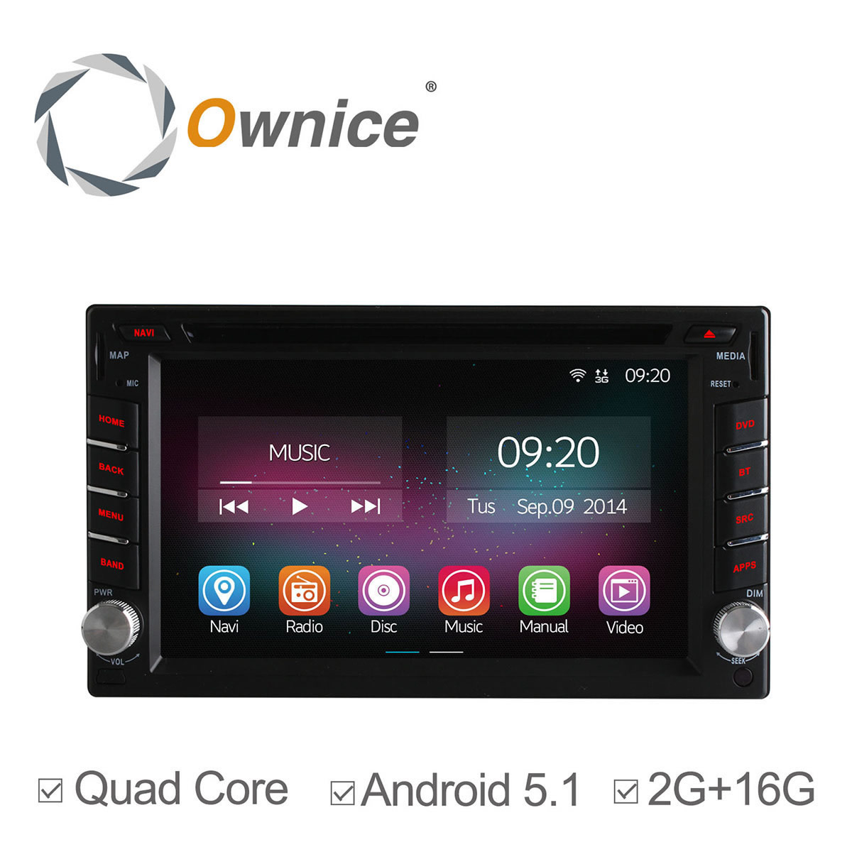 Store Vertical Exterieur Sunny Inch Aliexpress Buy Quad Core Android 5 1 Car Dvd Player