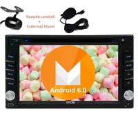 Free External Microphone Pure Android 6 0 Car Stereo In Dash Navigation GPS Car Radio Double