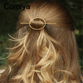 Vintage gold/silver color alloy fashion round tiara hairgrips for women wedding hair accessories bijoux cheveux head jewelry