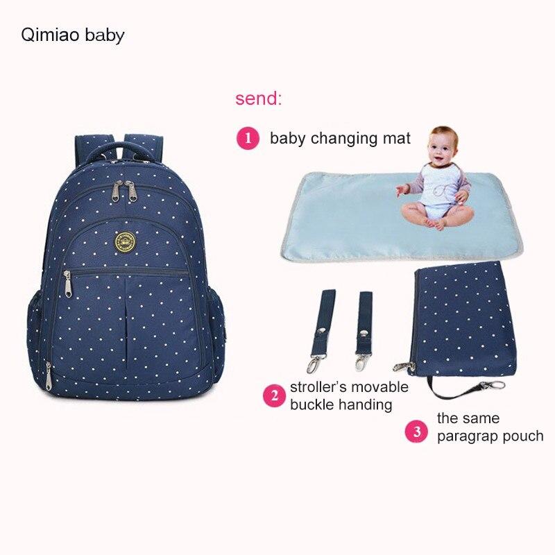 Bolsa de pañales multifunción para la madre Cochecito de bebé - Pañales y entrenamiento para ir al baño - foto 4