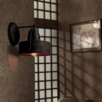 Style Loft Fer Vintage Mur Luminaires éolien Industriel Edison Mur