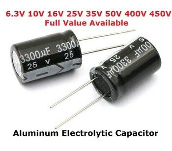 5PCS 450V aluminum electrolytic capacitor 400V 100UF 150UF 1UF 2.2UF 3.3UF 4.7UF 6.8UF 10UF 15UF 22UF 33UF 47UF 68UF 82UF kit фото