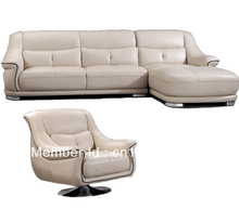 Morden sofa ,leather sofa, corner sofa, livingroom furniture, chesterfield sofa factory export wholesale 2108(China)